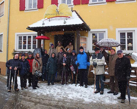 Winterwanderung am Schwanberg am 19.02.2013