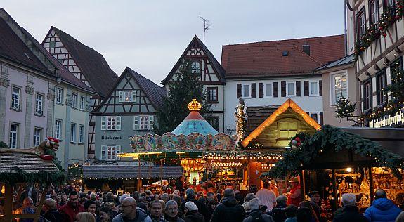 Besuch des Altdeutschen Weihnachtsmarktes in Bad Wimpfen am 05.12.2015