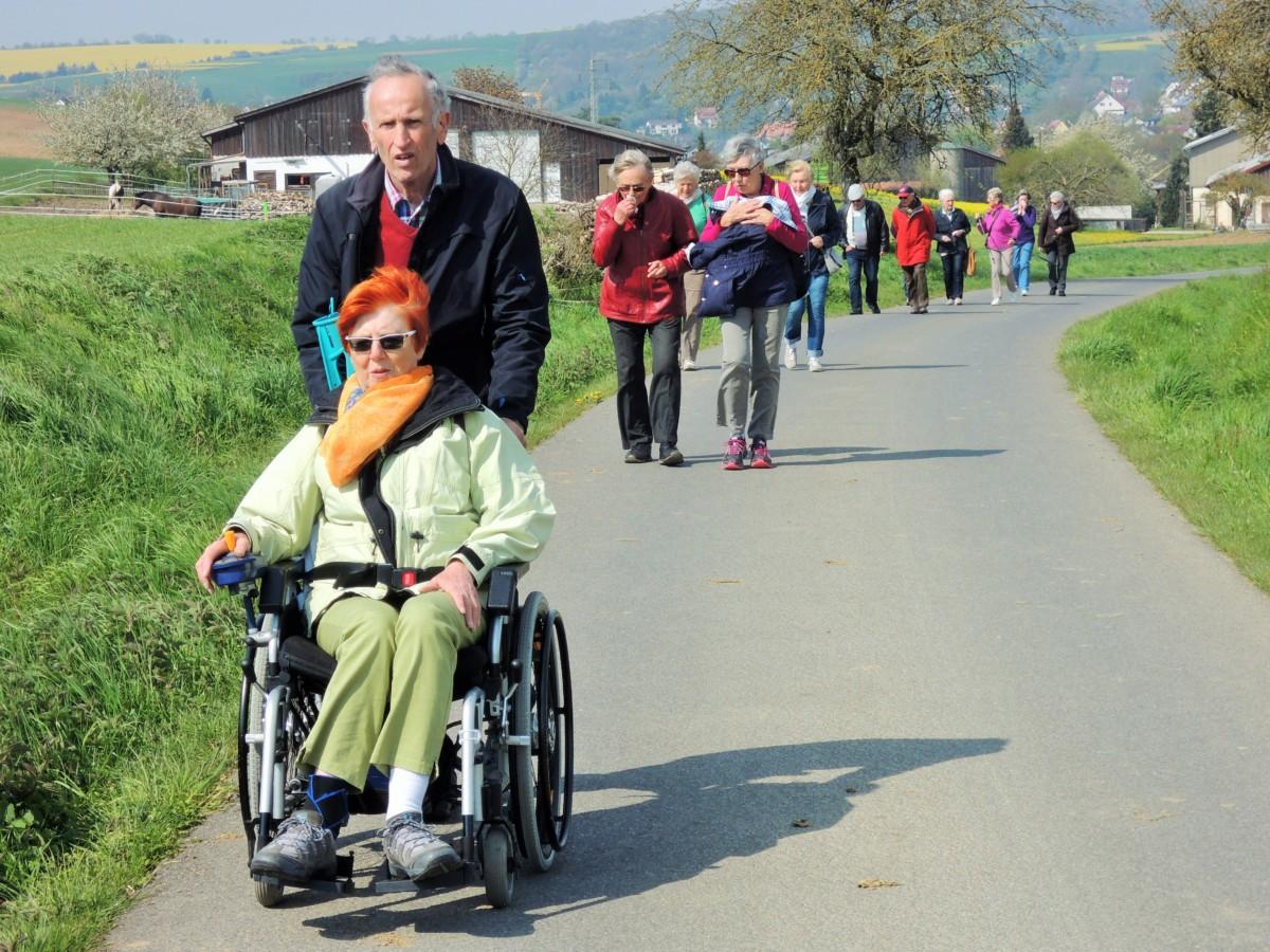 Wanderung nach Lengfeld am 01. Mai 2016